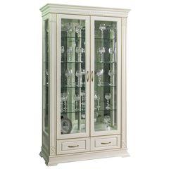 Купить Шкаф с витриной «Верди Люкс 2з» П487.21з в Симферополе, Крыму