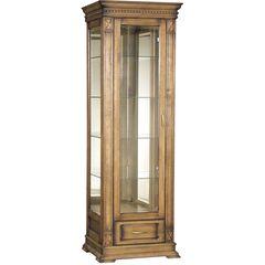 Купить Шкаф с витриной «Верди Люкс 1з» П487.11з-01 в Симферополе, Крыму